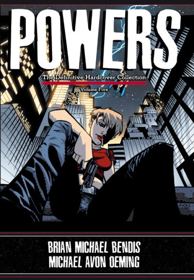 Brian Michael Bendis Powers The Definitive Hardcover Collection Volume 5