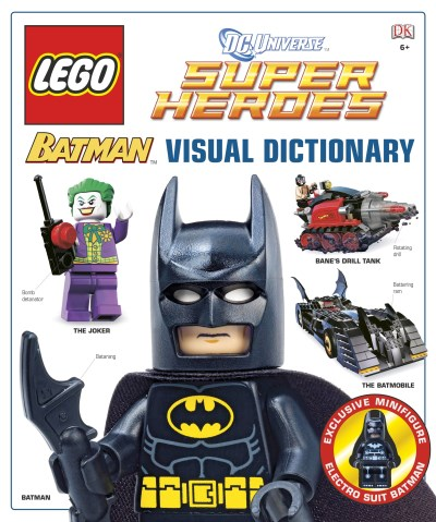 Daniel Lipkowitz Lego Batman Visual Dictionary [with Minifigure]