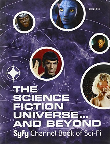Michael Mallory The Science Fiction Universe... And Beyond Syfy Channel Book Of Sci Fi