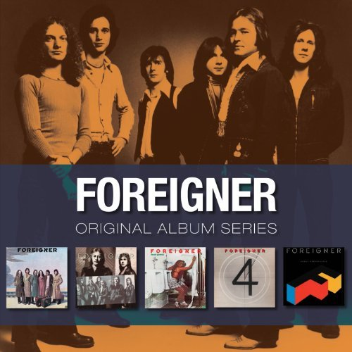 Foreigner Original Album Series 5 CD