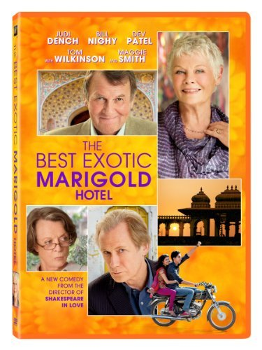 Best Exotic Marigold Hotel Dench Nighy Wilkinson DVD Pg13 Ws