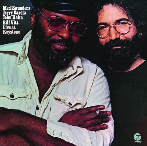 Merl & Jerry Garcia Saunders Live At Keystone 2 Lp