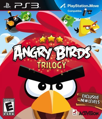 Ps3 Angry Birds Trilogy (move Comp Activision Inc. E