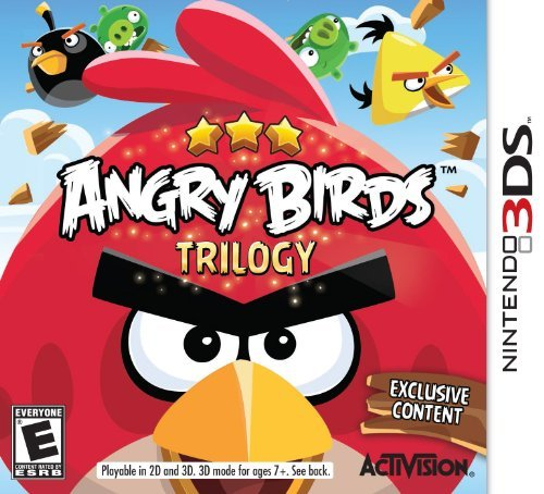 Nintendo 3ds Angry Birds Trilogy Activision Inc. E