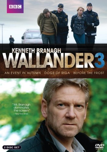 Wallander Series 3 An Event In Autumn Before The Frost Dogs Of Riga Nr 2 DVD