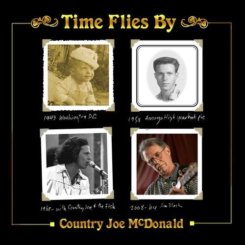 Country Joe Mcdonald Time Flies By 2 CD