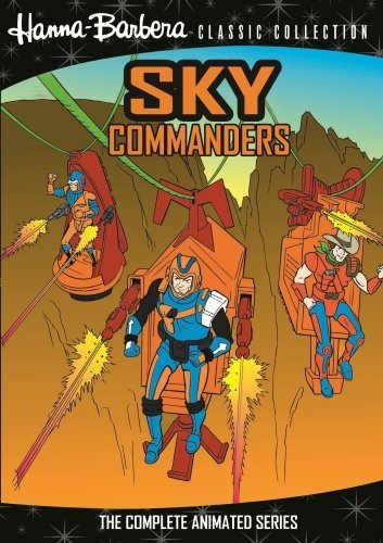 Sky Commanders Complete Animat Sky Commanders DVD Mod This Item Is Made On Demand Could Take 2 3 Weeks For Delivery