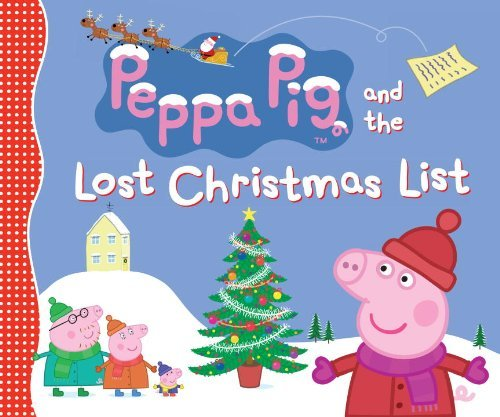 Candlewick Press Peppa Pig And The Lost Christmas List