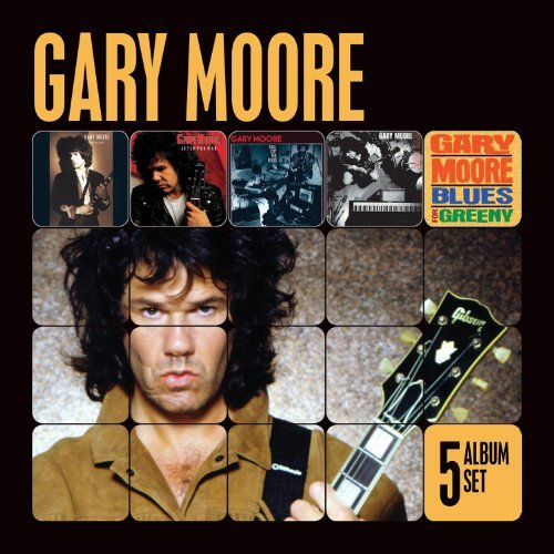 Gary Moore 5 Album Set Import Eu 5 CD