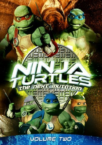 Ninja Turtles The Next Mutation Vol. 2 Tvy7 2 DVD