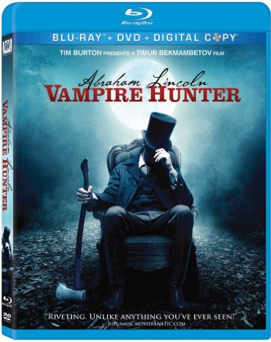 Abraham Lincoln Vampire Hunte Walker Cooper Sewell Blu Ray Ws R Incl. DVD Dc
