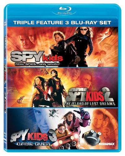 Spy Kids Triple Feature Spy Kids Triple Feature Blu Ray Ws Pg 3 Br