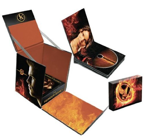 Hunger Games Lawrence Hutcherson Hemsworth 4 Disc Collectors Edition