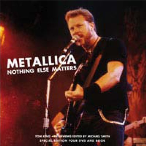 Metallica Nothing Else Matters Nr Incl. Book