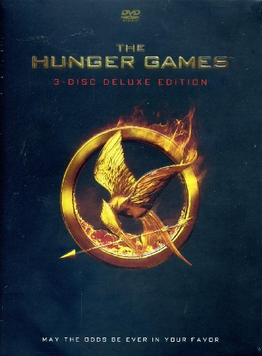 Hunger Games Lawrence Hutcherson Hemsworth 3 Disc Deluxe Edition