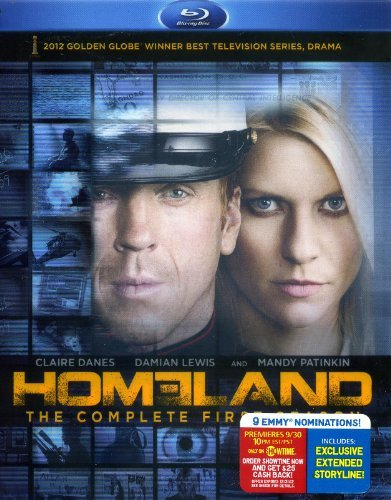 Homeland Season 1 Blu Ray W Bonus DVD
