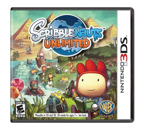 Nintendo 3ds Scribblenauts Unlimited Whv Games E10+