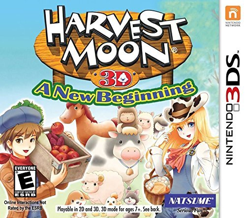 Nintendo 3ds Harvest Moon A New Beginning