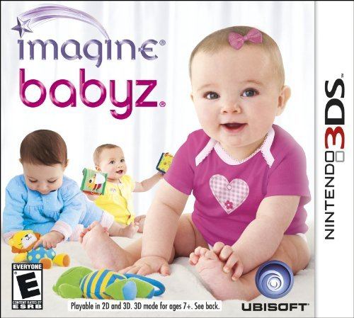 Nintendo 3ds Imagine Babyz 3d Ubisoft E