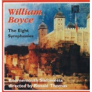 W. Boyce Eight Symphonies