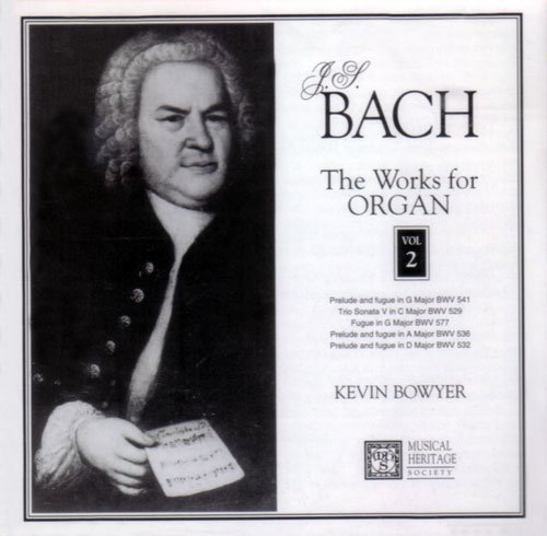 J.S. Bach Works For Organ Vol. 2
