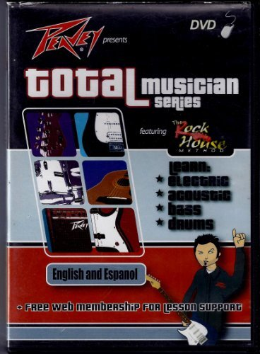Total Musician Series Learn Electric Acoustic Bass & Drums