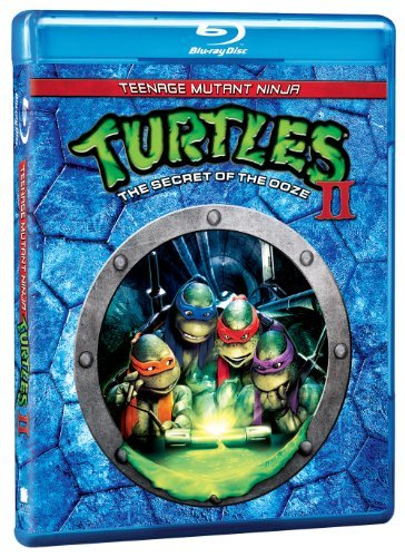Teenage Mutant Ninja Turtles 2 Turco Sisti Tiden Blu Ray Pg Ws