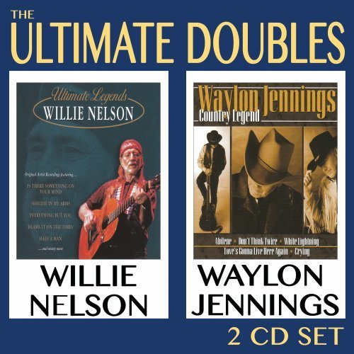 Willie & Waylon Jenning Nelson Ultimate Doubles 2 CD