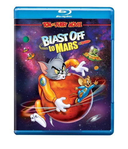 Blast Off To Mars Tom & Jerry Blu Ray Ws Nr
