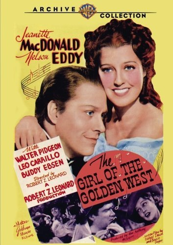 Girl Of The Golden West (1940) Macdonald Eddy Pidgeon DVD R Nr