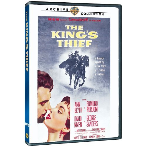 King's Thief (1955) Blyth Purdom Niven Made On Demand Nr