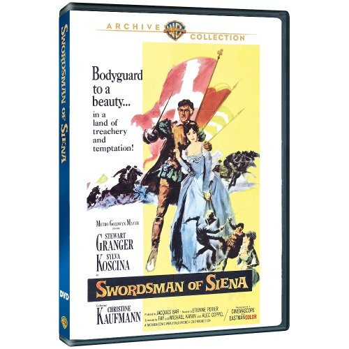 Swordsman Of Siena (1962) Granger Koscina Kaufmann Made On Demand Nr