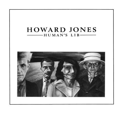 Howard Jones Human's Lib CD R