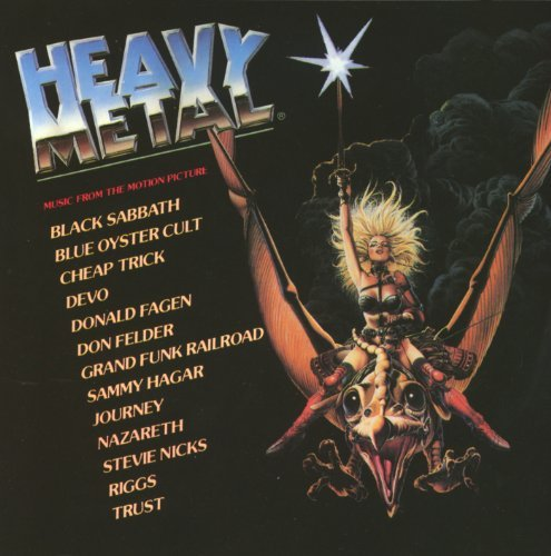 Heavy Metal Heavy Metal Hagar Devo Cheap Trick Riggs Soundtrack