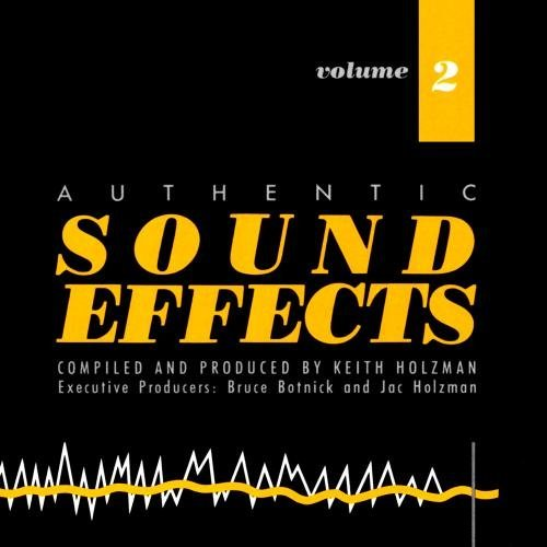 Sound Effects Vol. 2 CD R
