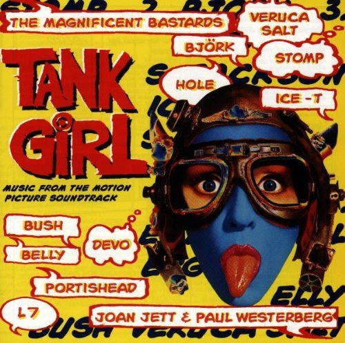 Tank Girl Soundtrack CD R Portishead Belly Veruca Salt