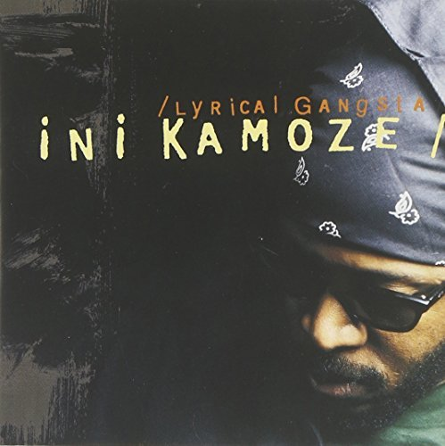 Ini Kamoze Lyrical Gangsta CD R