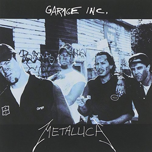 Metallica Garage Inc. Explicit Version 2 CD Set
