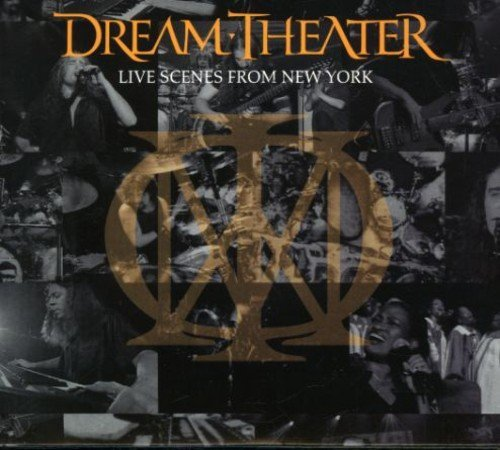 Dream Theater Live Scenes From New York Enhanced CD 3 CD Set