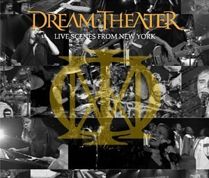 Dream Theater Live Scenes From New York New Cover 3 CD Set