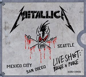Metallica Live Shit Binge & Purge 3 CD Set Incl. 2 DVD
