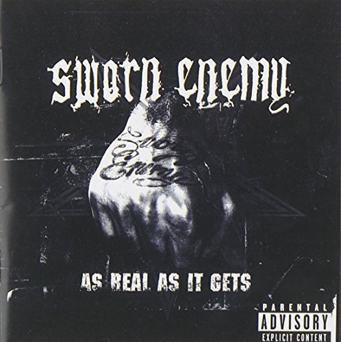 Sworn Enemy As Real As It Gets CD R