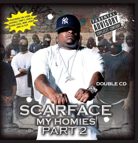 Scarface My Homies Part 2 Explicit Version 2 CD