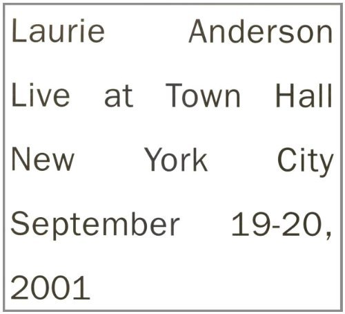Laurie Anderson Live In New York 2 CD Set