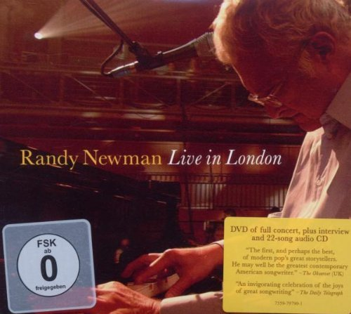 Randy Newman Live In London (cd Dvd) Incl. DVD