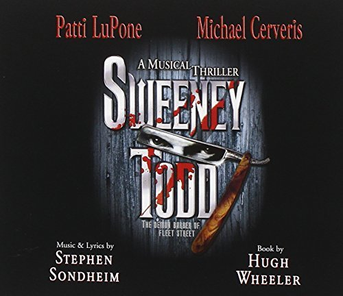 Cast Recording Sweeney Todd 2 CD Set