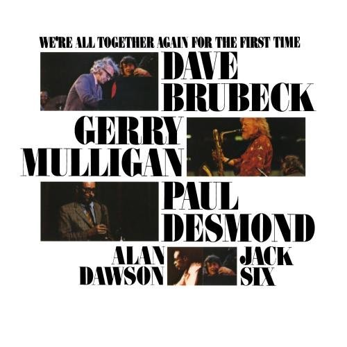 Dave Brubeck We're All Together Again For T CD R