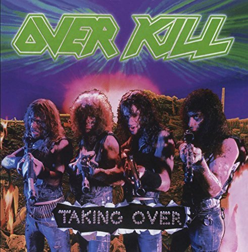 Overkill Taking Over CD R