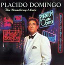Placido Domingo Broadway I Love CD R