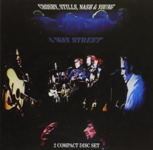 Crosby Stills Nash & Young 4 Way Street Jewel Box CD 2 CD Set